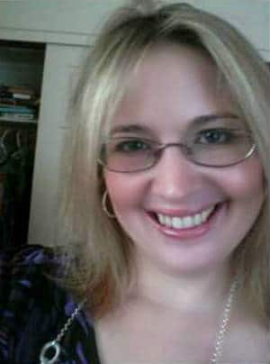 Amber Topping; co-creator of The Silver Petticoat Review