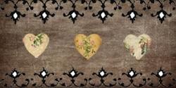 Three heart rating border