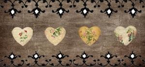 four heart border