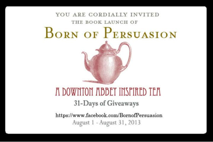 You are cordially invited to tea…