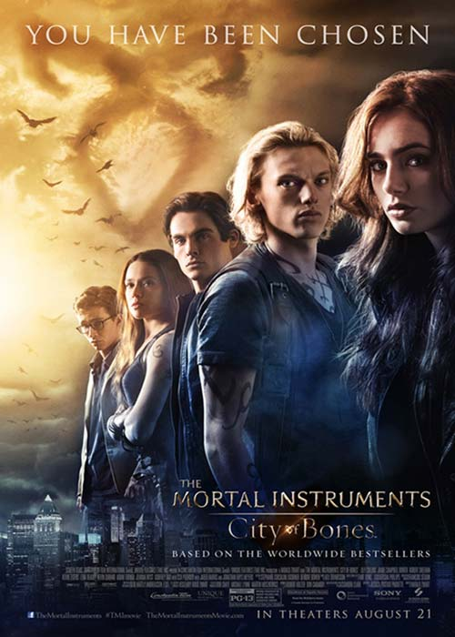 Film Review - The Mortal Instruments: City of Bones - An Entertaining Adaptation
