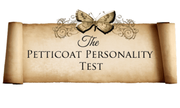 "Amber Topping Takes the ""Petticoat Personality Test"""