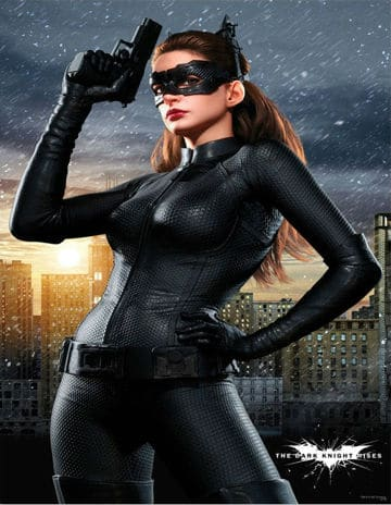 Anne Hathaway as Cat Woman in The Dark Knight Rises Photo: Warner Bros.