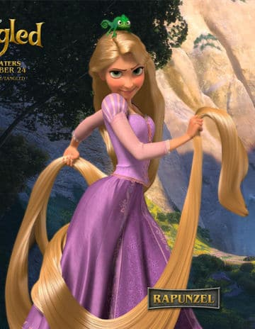 Mandy Moore as Rapunzel from Disney's Tangled Picture: Disney