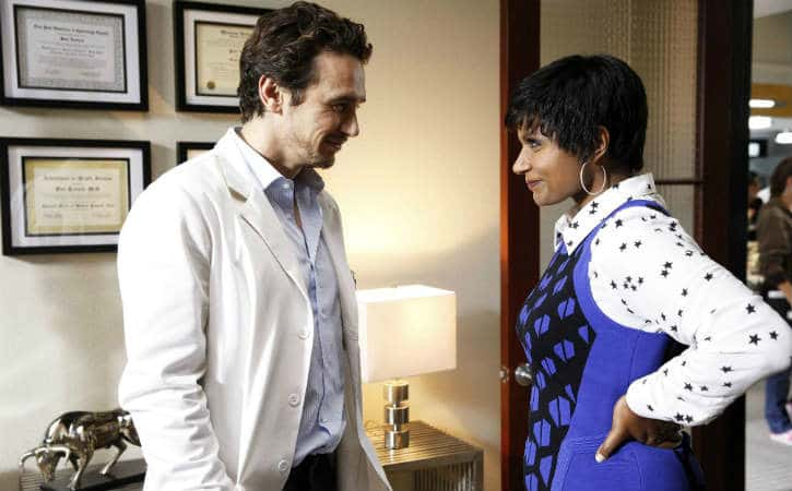 James Franco guest stars in The Mindy Project's season 2 premiere. Photo: FOX; Watch The Mindy Project Season 2 Premiere Early