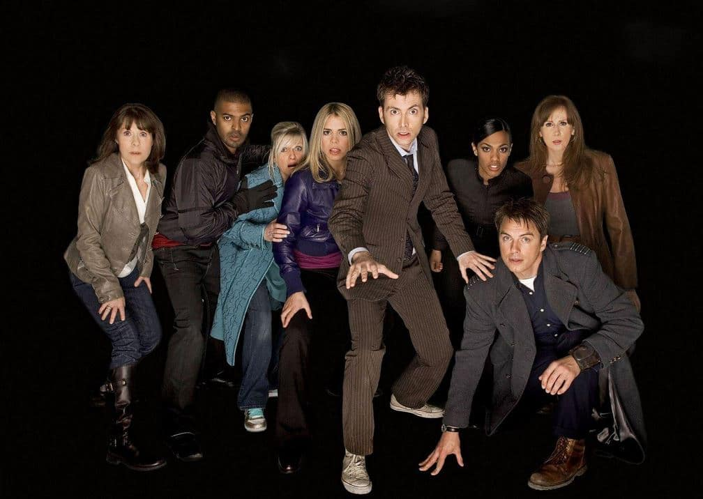 """The cast of """"Journey's End"""" in season 4. Photo: BBC"""