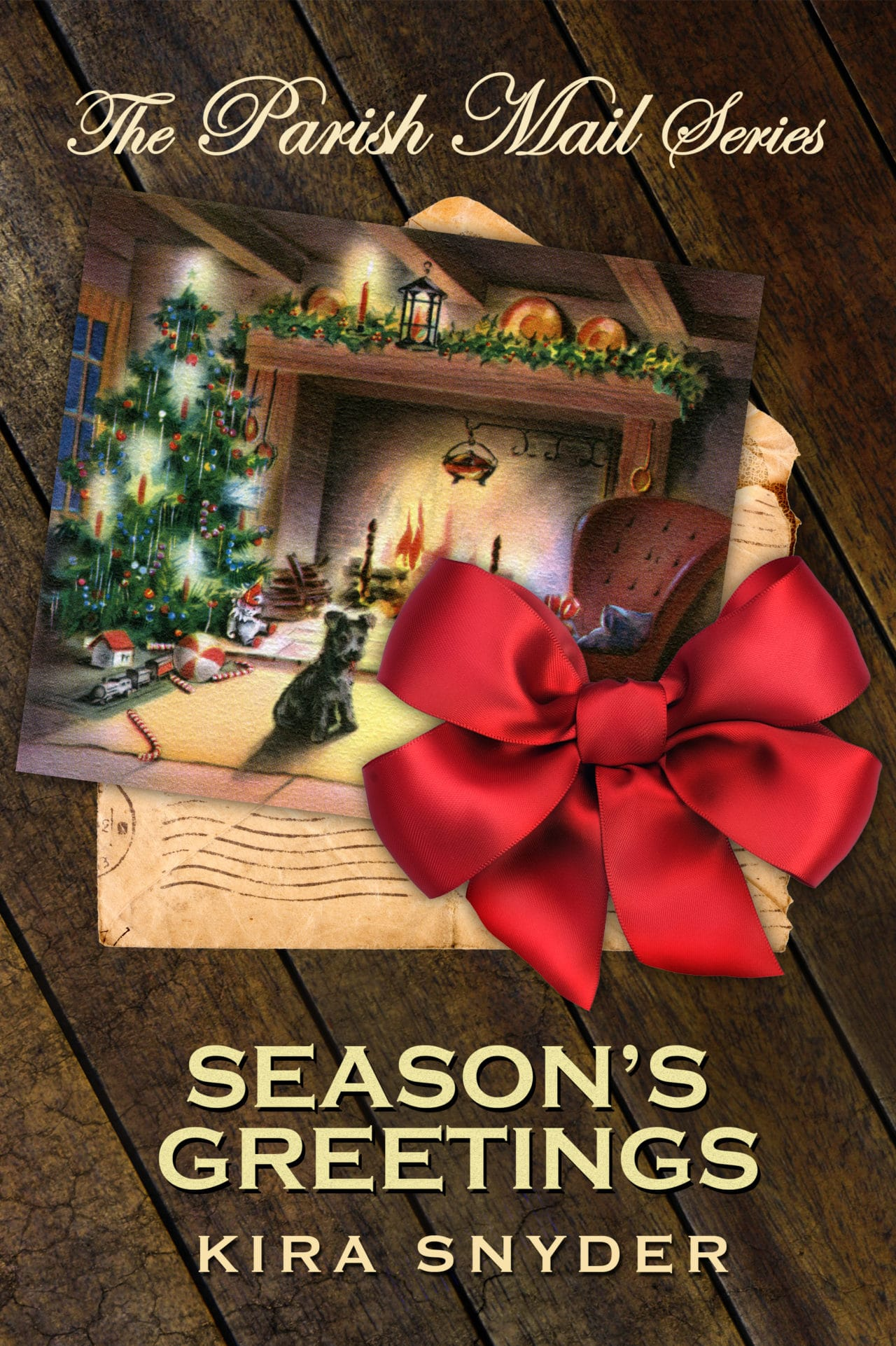 Cover Reveal and Giveaway: Kira Snyder's Season's Greetings, A Parish Mail Short