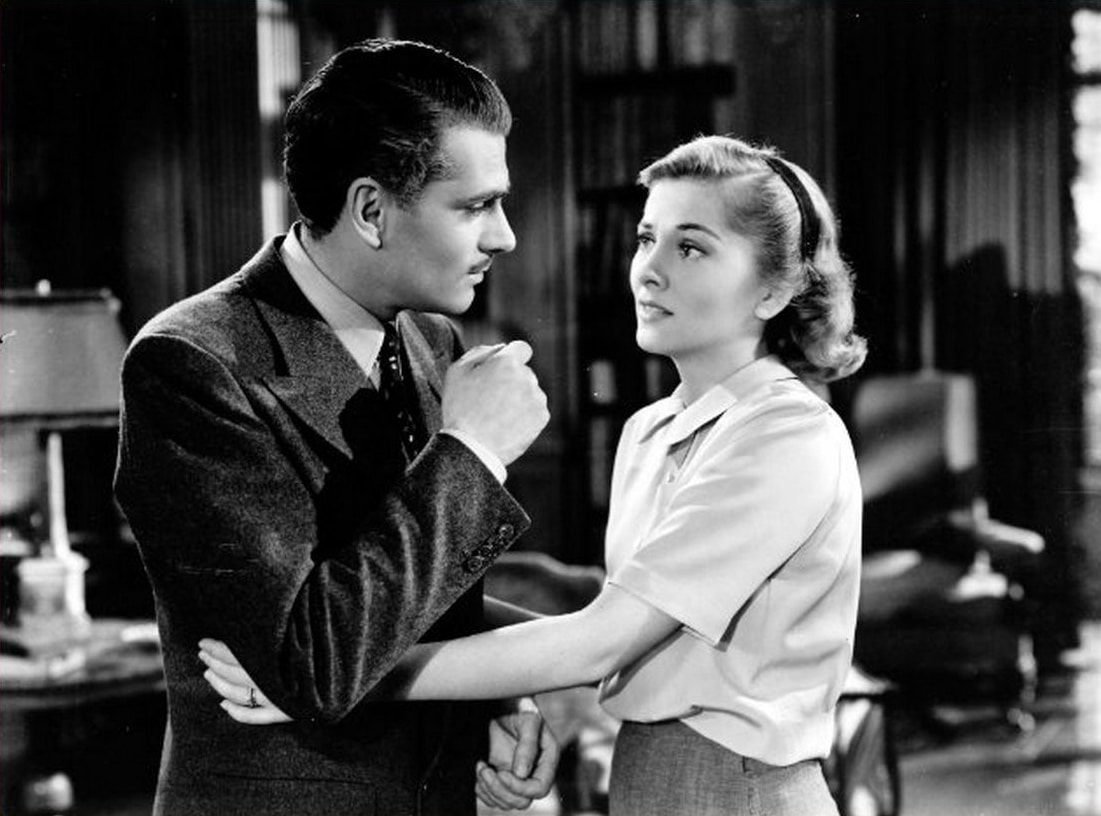 Rebecca starring Laurence Olivier and Joan Fontaine. Photo: 20th Century Fox