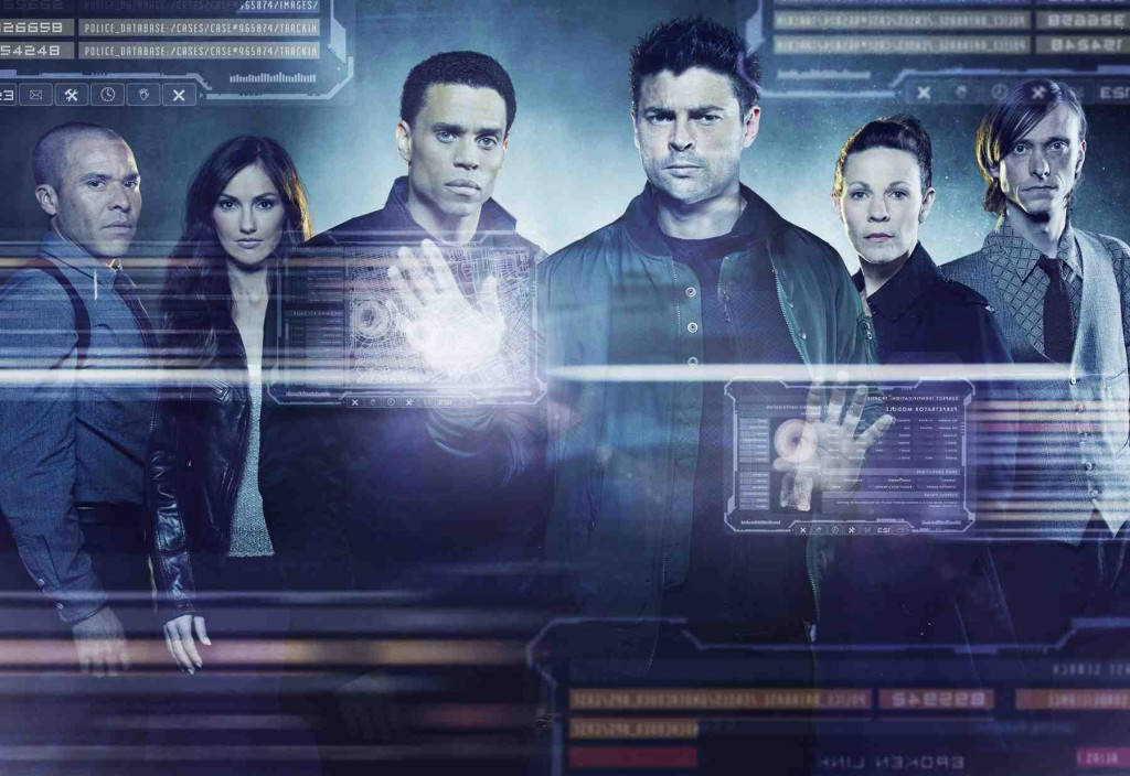 The Cast of Almost Human. Photo: Fox