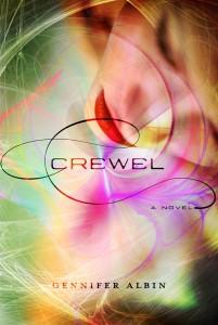 crewel book cover