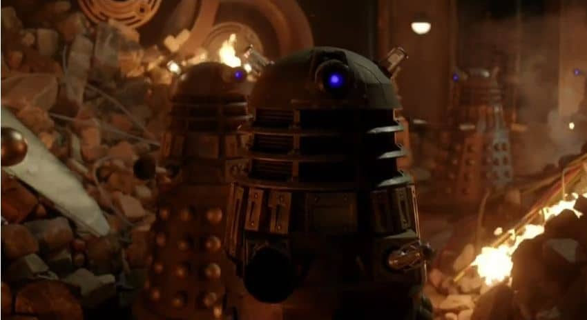 Daleks and The Time War? Photo: BBC