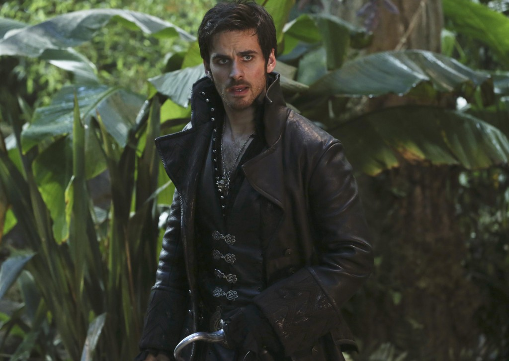 Colin O'Donoghue as Captain Hook on OUAT Photo: ABC