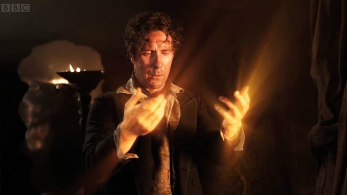 The 8th Doctor regenerates. Photo: BBC