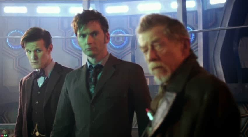 The Three Doctors Photo: BBC