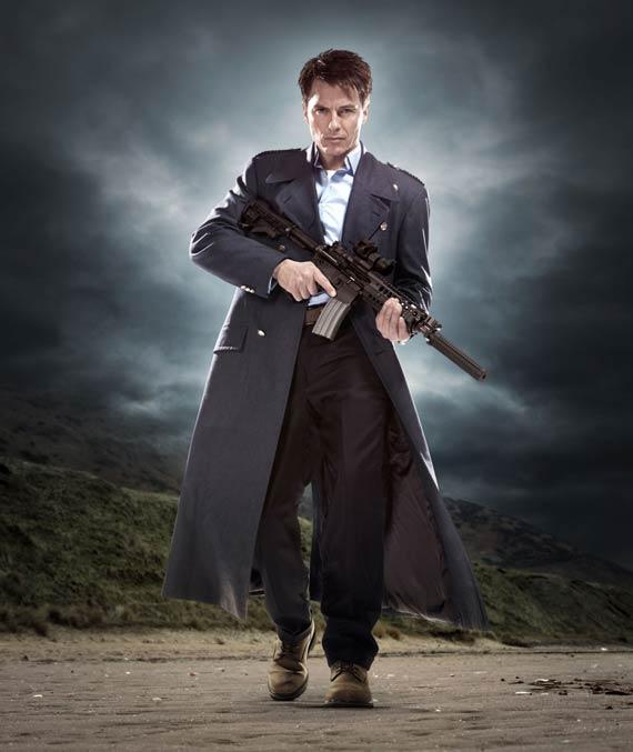 Captain Jack Harkness (John Barrowman) Photo: BBC