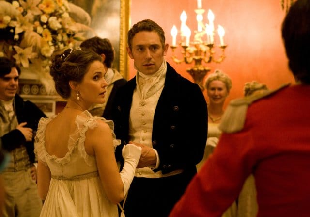 Keri Russell and JJ Feild in Austenland. Image Credit: Sony Pictures