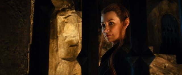 Tauriel (Evangeline Lilly) in The Hobbit: The Desolation of Smaug. Photo: Warner Bros.