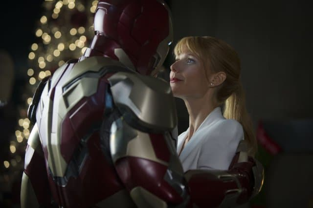 Robert Downey Jr. and Gwyneth Paltrow in Iron Man 3. Image Credit: Marvel