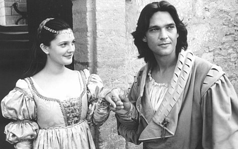 Danielle (Drew Barrymore) and Prince Henry (Dougray Scott) in Ever After Photo: Twentieth Century Fox