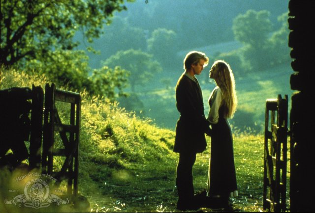 Westley (Cary Elwes) and Buttercup (Robin Wright) from the Princess Bride Photo: Act III Communications