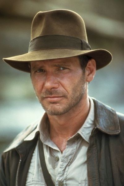 Indiana Jones (Harrison Ford) in Indiana Jones and the Temple of Doom Photo: Paramount Pictures