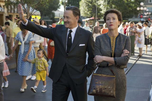 Tom Hanks and Emma Thompson in Saving Mr. Banks; Films Featuring Writers List