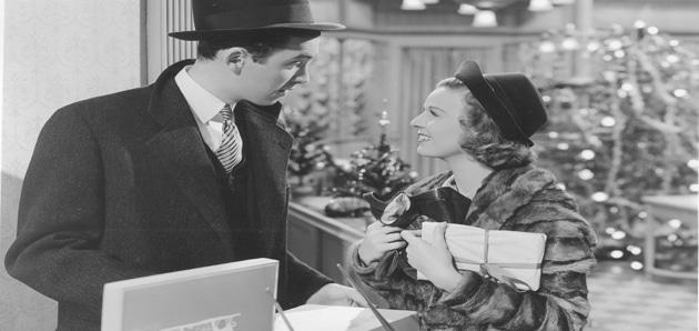 Vintage Christmas -The Shop Around the Corner (1940)