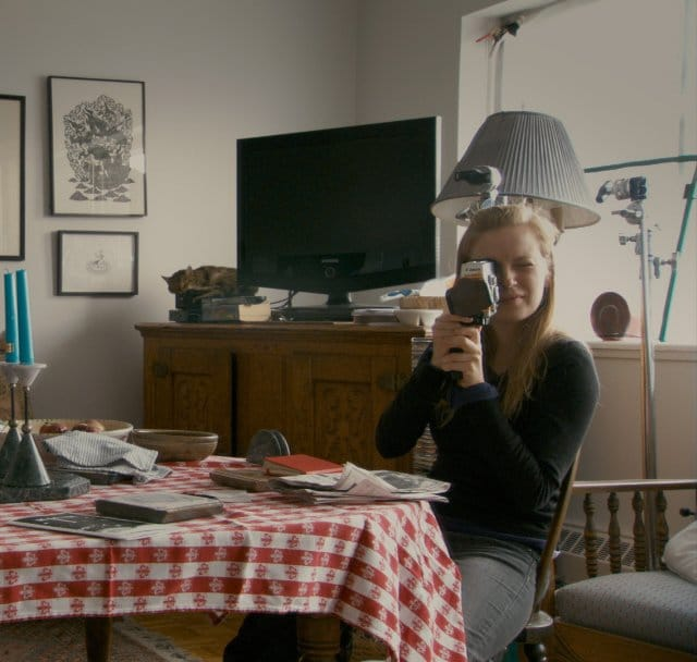 Sarah Polley in the documentary Stories We Tell. Image Credit: Roadside Attractions