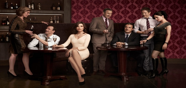 #4: The Good Wife (Fantastic writing even if Alicia drives me crazy sometimes and I love Eli Gold): Photo: CBS