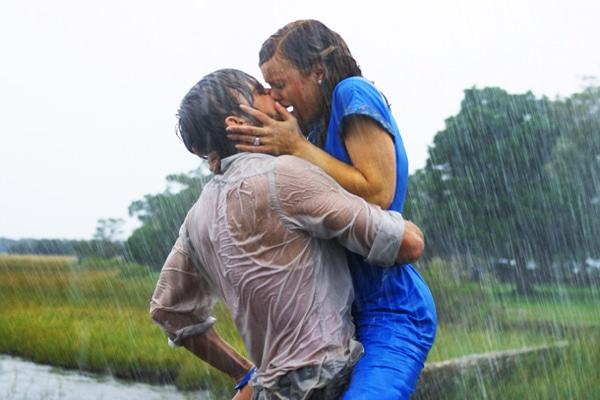 top movie kisses