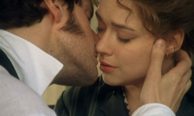 Romantic Moment of the Week – Mr. Thornton and Margaret Hale Share a Kiss in the Romantic Period Drama North and South