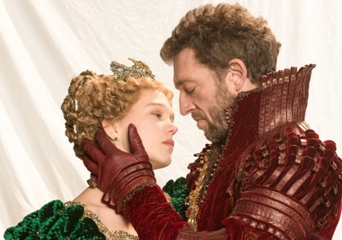 Vincent Cassel and Lea Seydoux as the Beast with his Beauty. Photo: Pathe