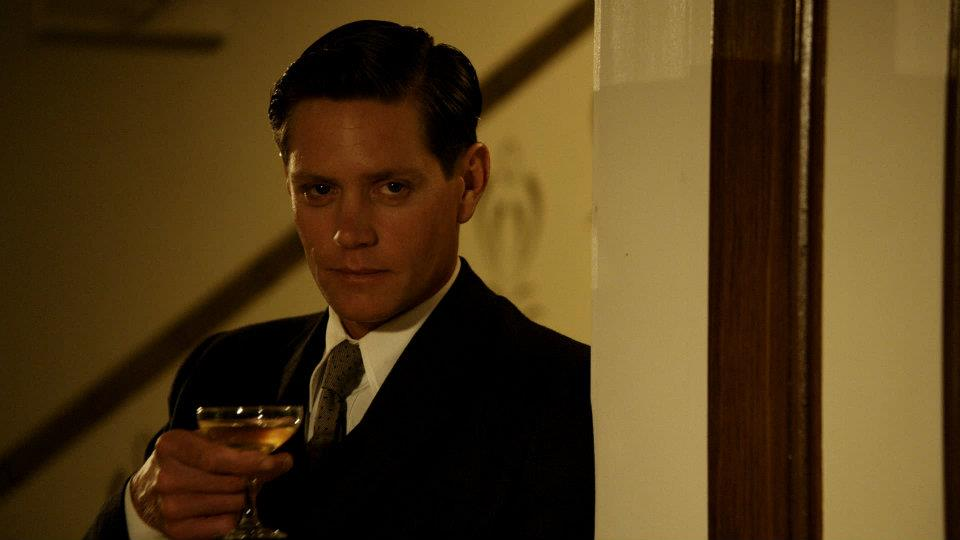 Detective Jack Robinson in Miss Fisher's Murder Mysteries. Photo: Acorn