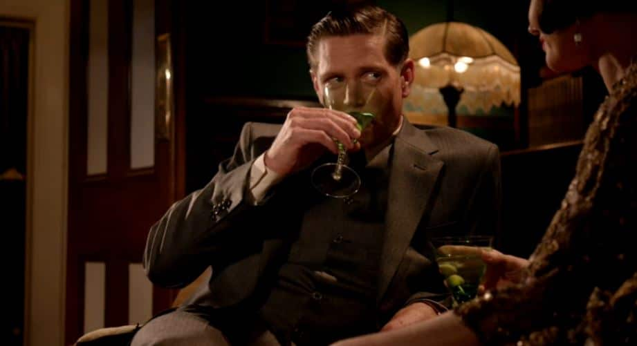 Jack takes his drink