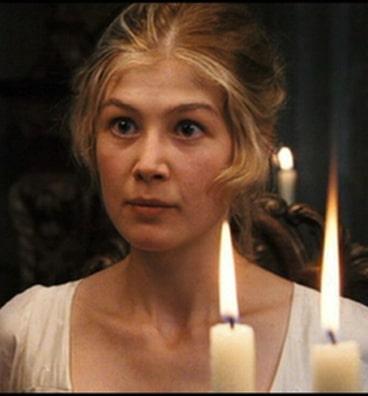 Jane Bennett (Rosamund Pike) in Pride and Prejudice Photo: Focus Features