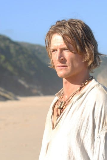 Robinson Crusoe (Philip Winchester) in Crusoe Photo: Power