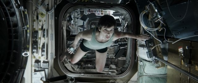 Sandra Bullock in Gravity Photo: Warner Bros.