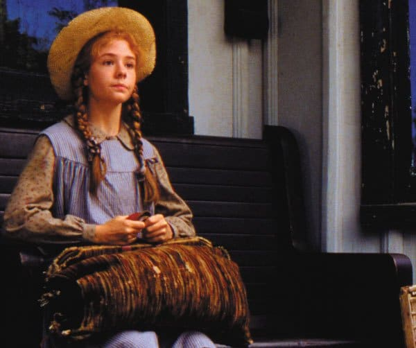 Anne Shirley (Megan Follows) in Anne of Green Gables. Women in Literature.