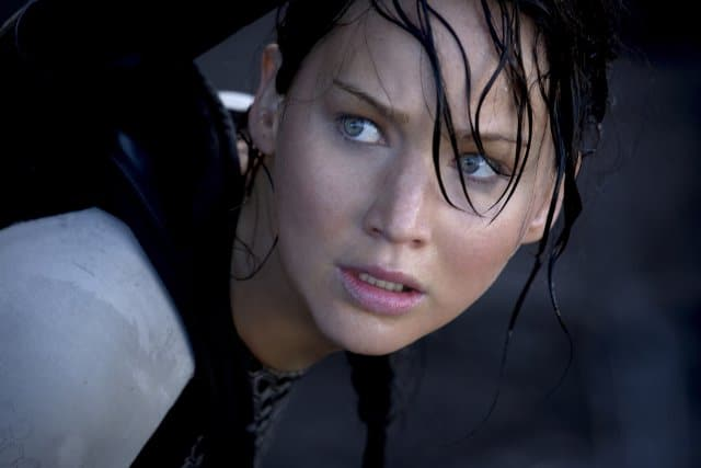Jennifer Lawrence in Hunger Games: Catching Fire Photo: Lionsgate