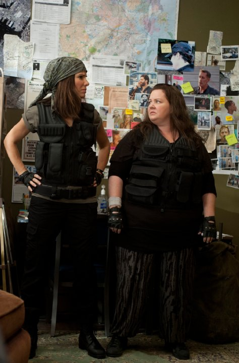 Sandra Bullock and Mellissa McCarthy in The Heat Photo: Twentieth Century Fox