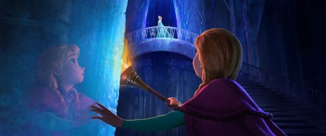 Kristen Bell and Idina Menzel in Frozen Picture: Disney