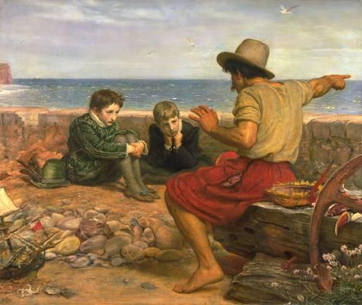 The Boyhood of Raleigh by Sir John Everett Millais, oil on canvas, 1870.