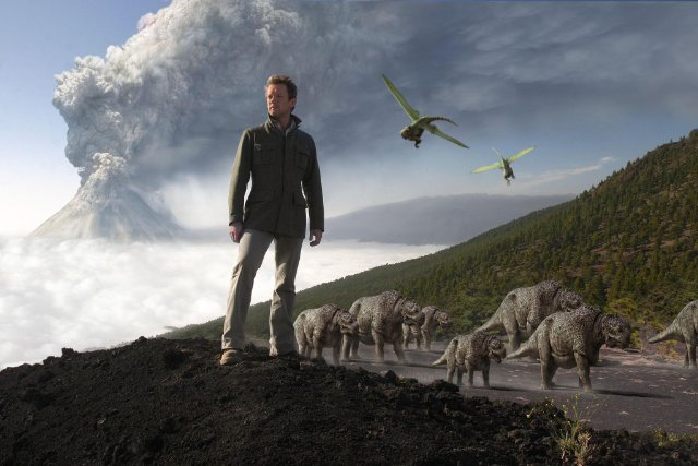Professor Nick Carter in Primeval. Photo: Impossible Pictures/BBC