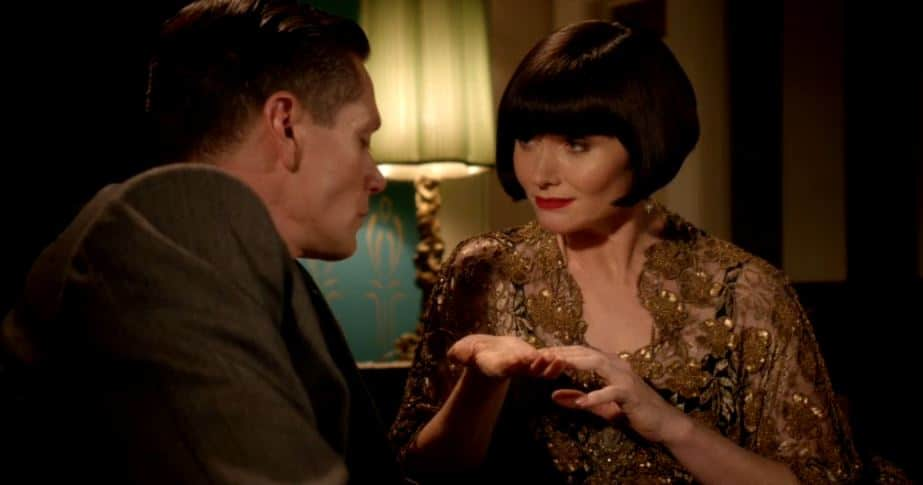 Phryne shares her past fortune