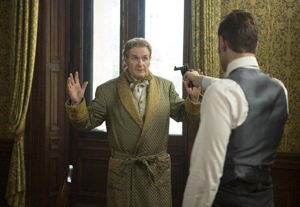 Robert Bathurst and Oliver Jackson-Cohen in Dracula.