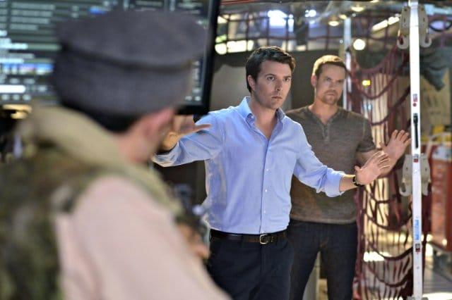 Ryan Fletcher in Nikita. Photo: CW