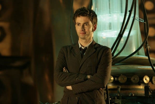 The Tenth Doctor in Doctor Who. Photo: BBC