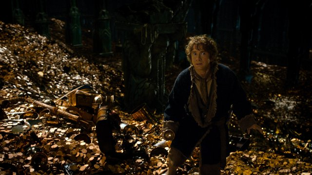 Martin Freeman in The Hobbit: The Desolation of Smaug Photo: Warner Brothers