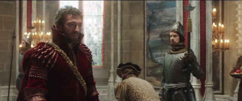 Beauty's dream prince played by Vincent Cassel