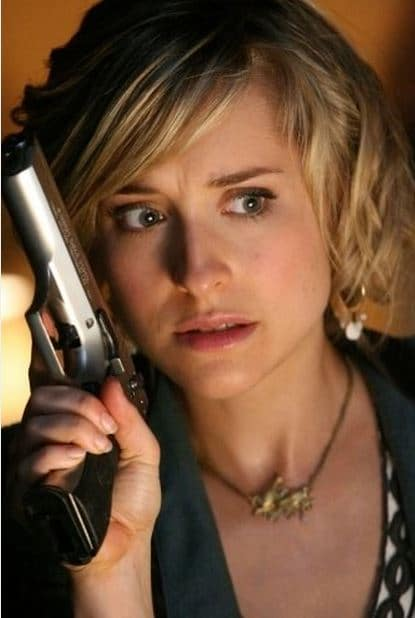 Allison Mack as Chloe Sullivan in Smallville Photo: CW
